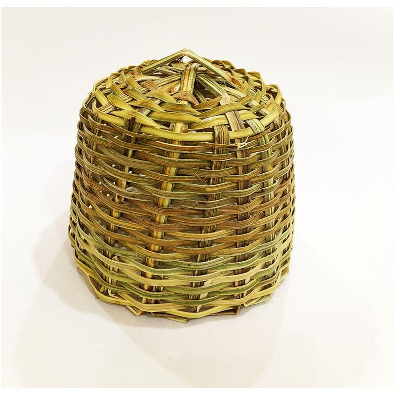 Mini cúpula de bambu