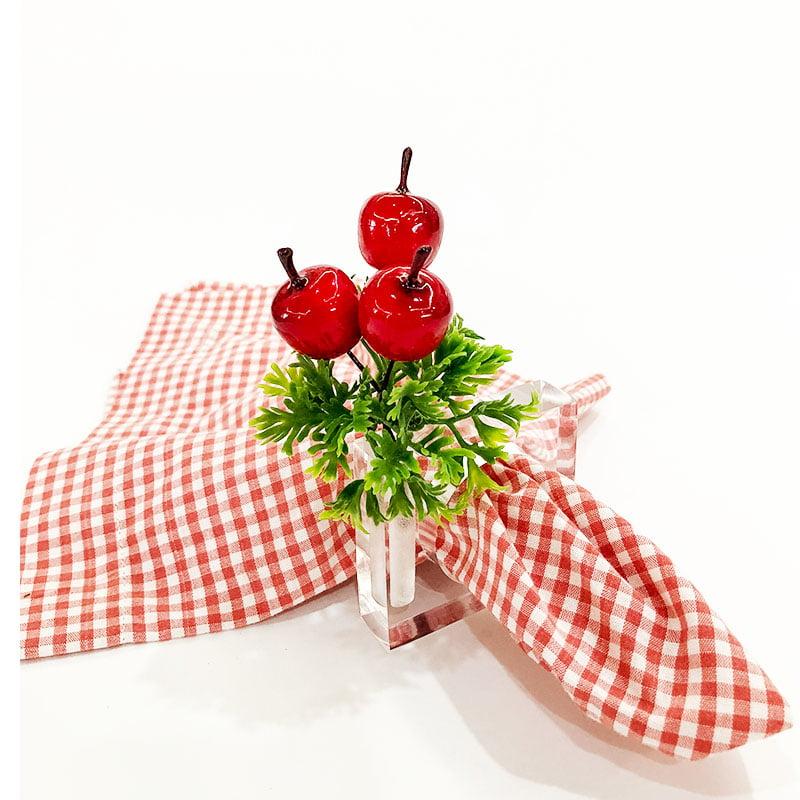 Porta guardanapo acrilico porta flor