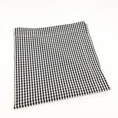 Guardanapo xadrez preto e branco coleção Cherry
