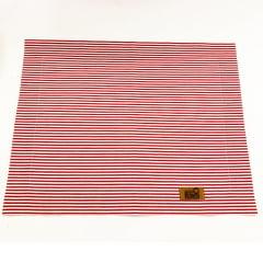 Jogo americano listrado vermelho e branco coleção Cherry