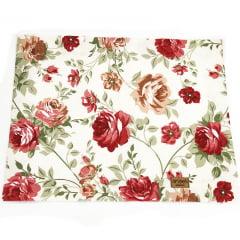 Jogo americano floral rosas