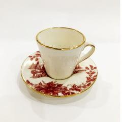 Xícara de café de cerâmica Cenas de Natal